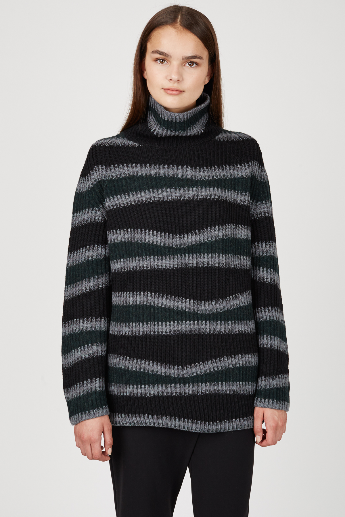 kenzo abstract striped wool sweater women sale kenzo opening ceremony. Black Bedroom Furniture Sets. Home Design Ideas
