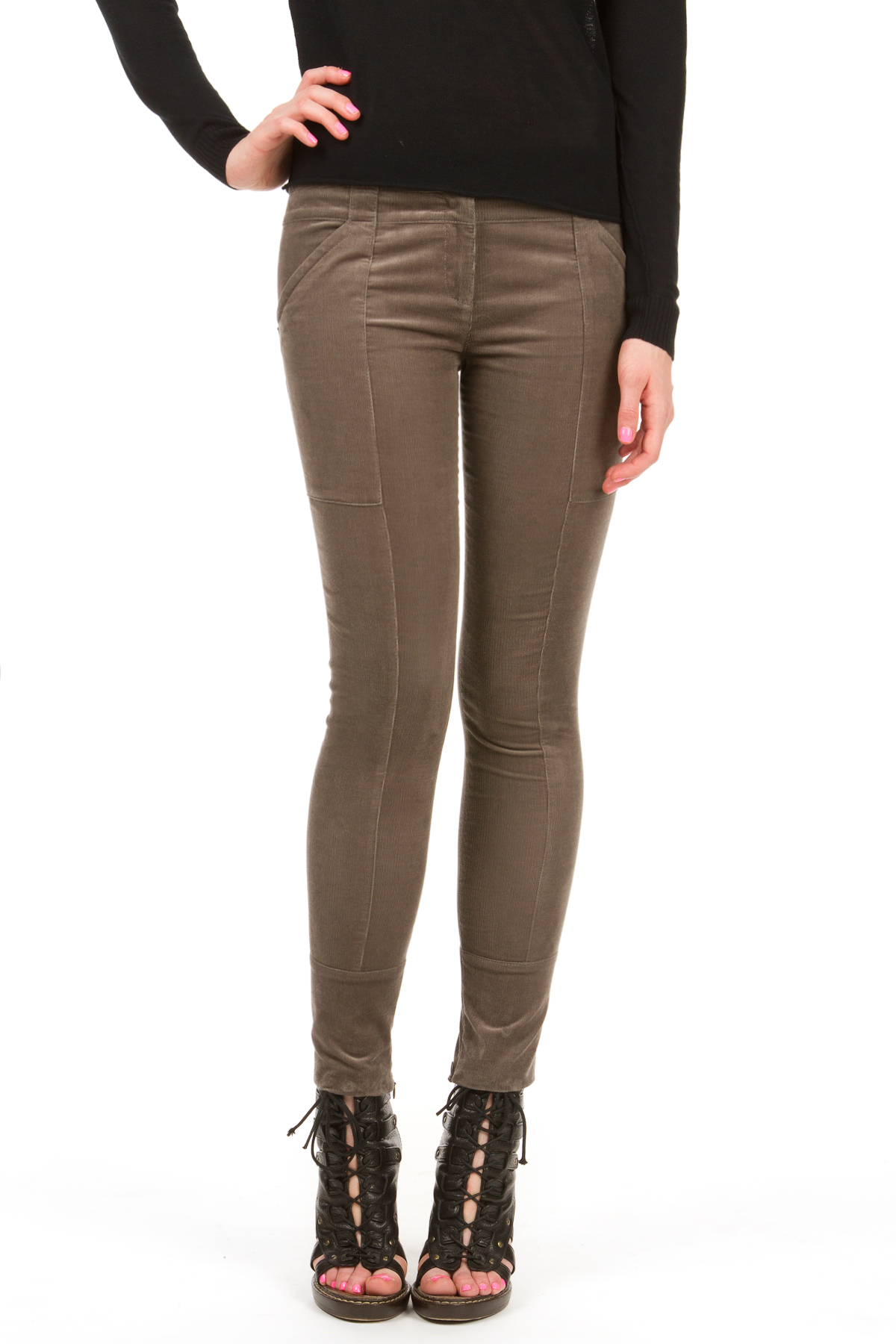 Perfect Burberry Brit Skinny Corduroy Pants Trade In Your Tired, Black Wool Pants For A Pair Of Dark Cords That Go With Everything Old Navy Womens BootCut Cords These Cords Are As Flattering As They Are Affordable Theres Almost No Excuse Not
