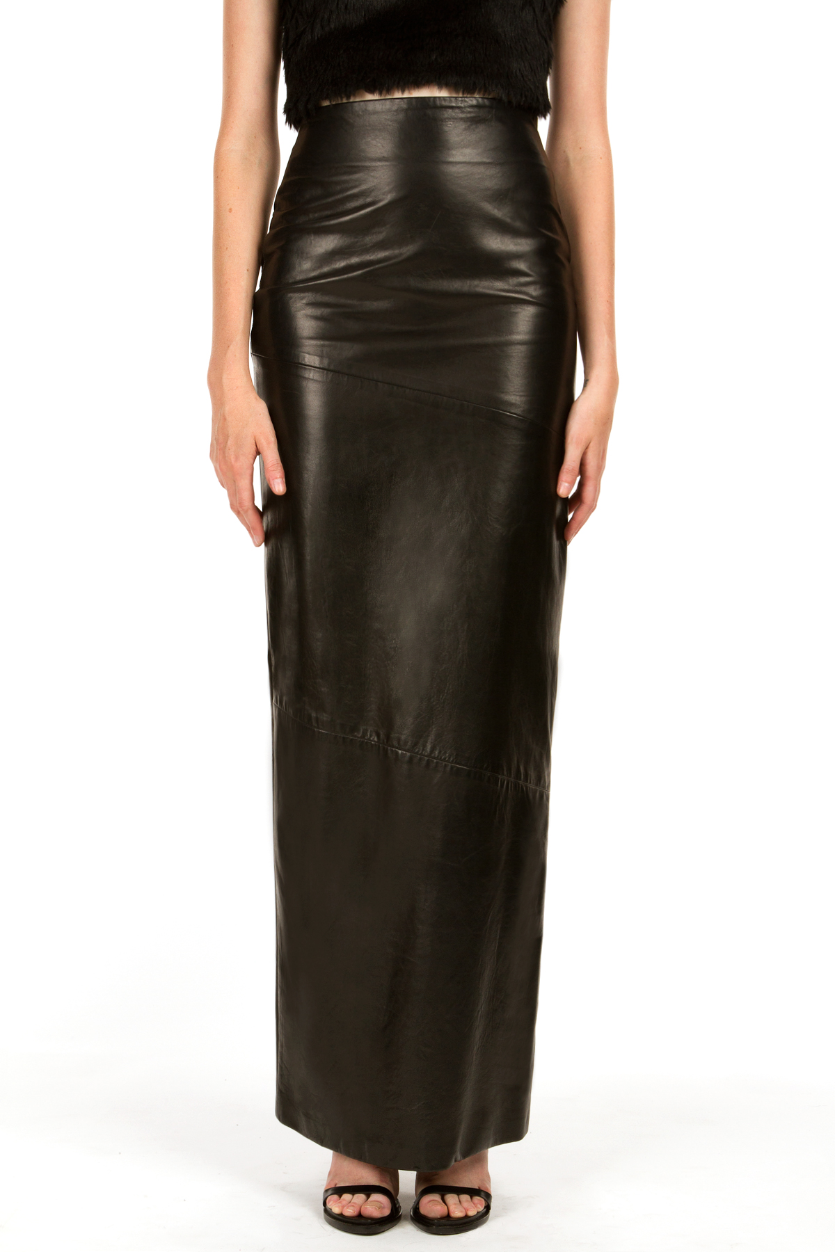 mandy coon moscow nights leather skirt skirts
