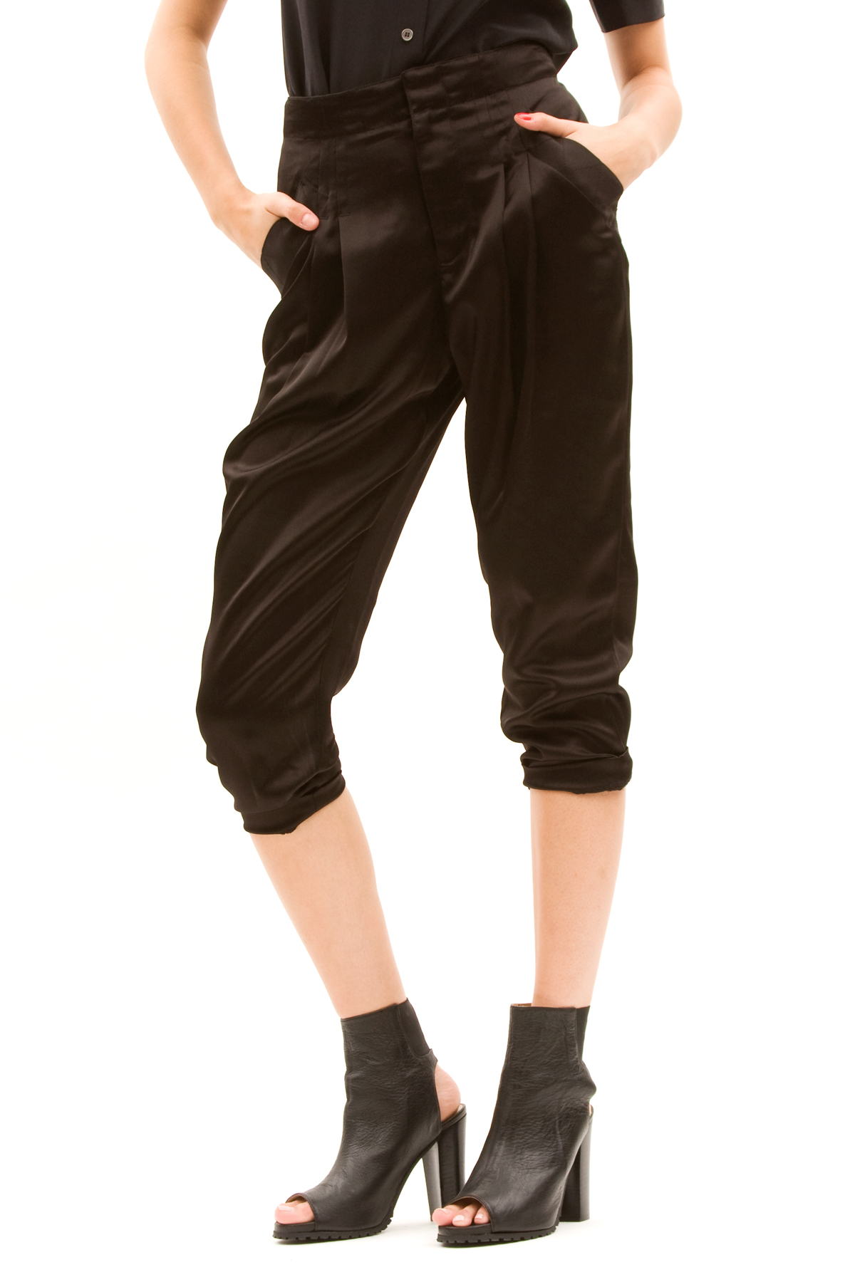 Lastest High Waist 2014 Cross Pant Drop Crotch Pants Women Baggy Pants Hip Hop