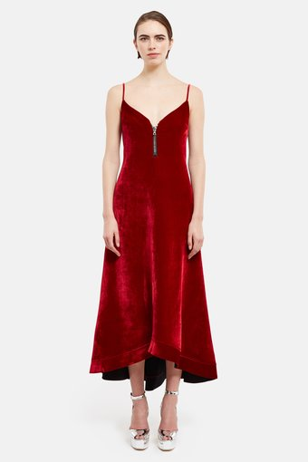 [ELLERY]Roulette Long Slip Dress (Click to Search!)