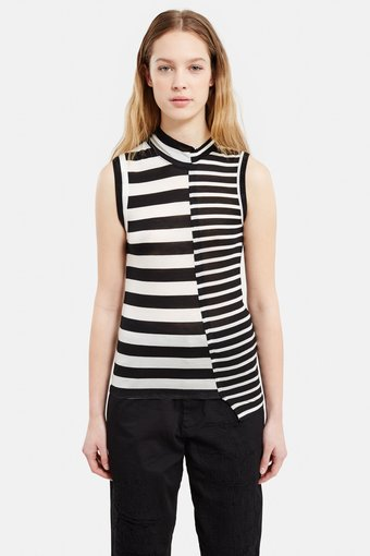 [Y'S]Asymmetry Sleeveless Top (Click to Search!)
