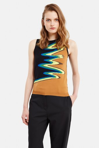 [ACNE STUDIOS]Onya Wave Knit Top (Click to Search!)