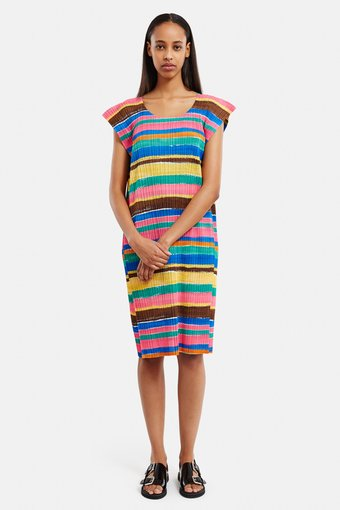 [PLEATS PLEASE ISSEY MIYAKE]Exclusively for Opening Ceremony A-Line Dress (Click to Search!)
