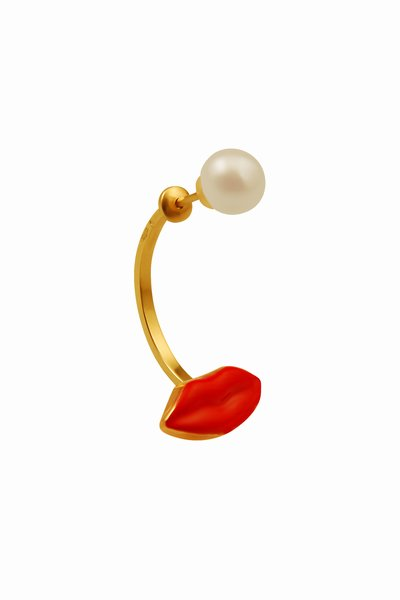 pop_60548_Red-Mouth-and-Pearl-Single-Earring9K-GOLD.jpg